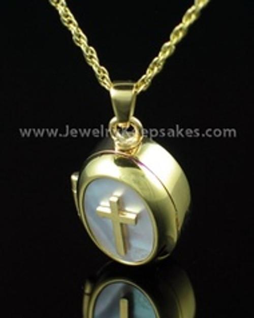 Cremation Keepsake 14K Gold Sanctity