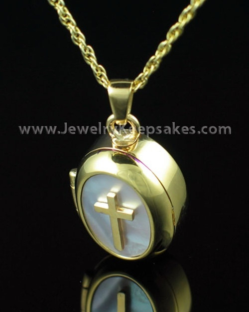 Cremation Keepsake 14K Gold Plated Sanctity