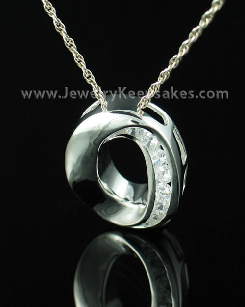 Funeral Jewelry Sterling Silver Commitment Keepsake Locket