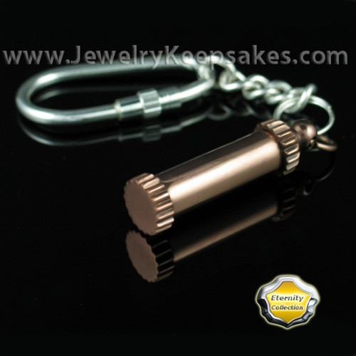 Memorial Jewelry Copper Bravura Keychain - Eternity Collection