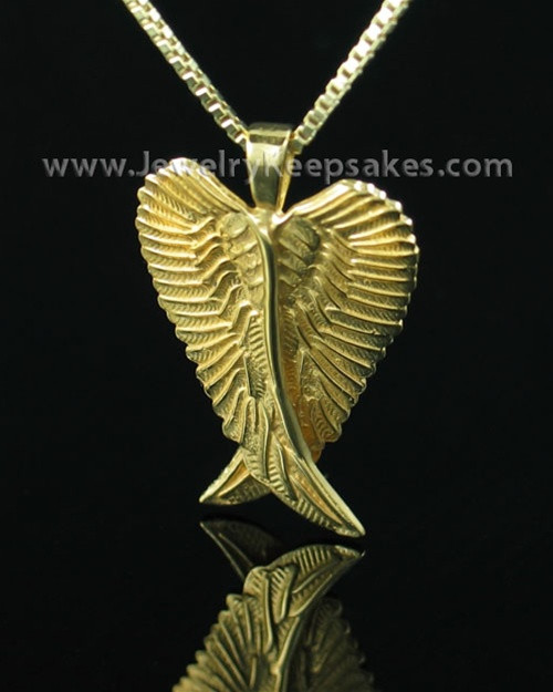 Ash Pendant Gold Vermeil Seraph