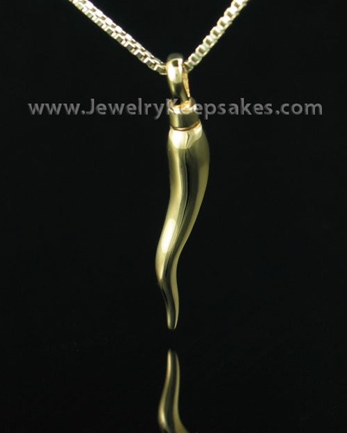 Cremation Keepsake Gold Vermeil Bellisimo