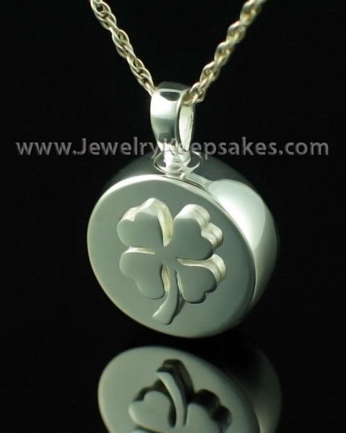 Memorial Necklace Prosperity - Sterling Silver - Engravable