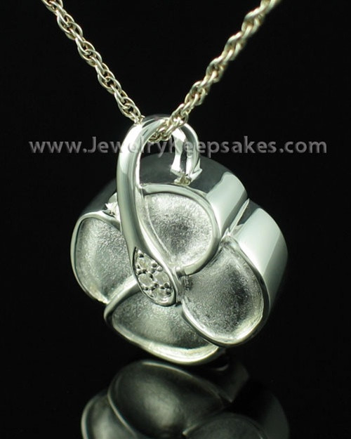 Jewelry Urn Blossom - Sterling Silver - Engravable