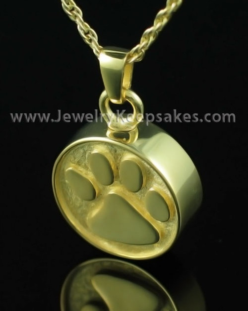 Jewelry Urn Friendship - Gold Plated - Engravable