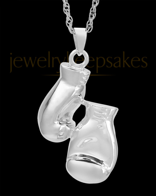 Cremation Necklace Spar - Sterling Silver - Engravable