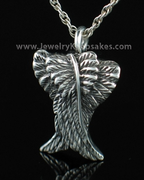 Cremation Keepsake Sterling Silver Spiritual Keepsake