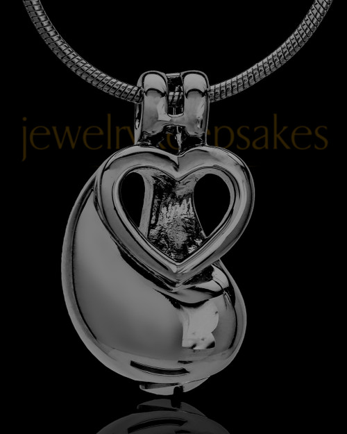 Black Plated Together As One Keepsake Jewelry