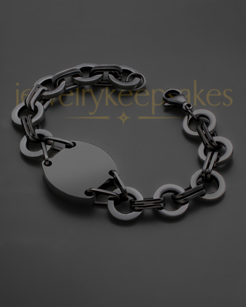Black on Black Dedicated Bracelet