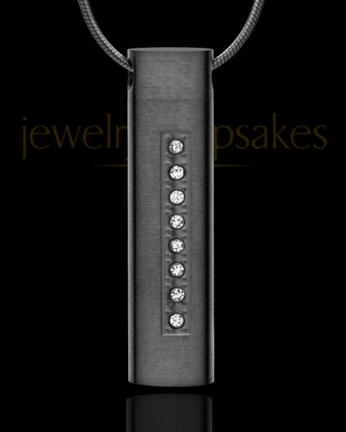Black Plated Endure Cylinder - Eternity Collection