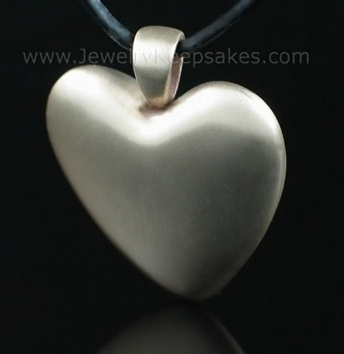 Cremation Pendant Bronze Heart