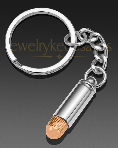 Copper Tip Remembrance Keychain