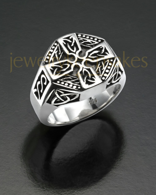 Men's Silver Nobility Cremation Ring