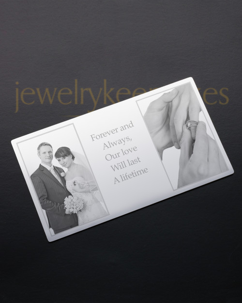 Silver Reflections Wallet Card