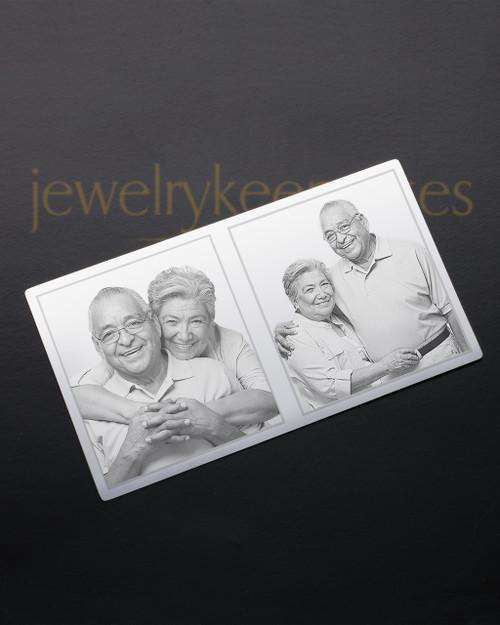 Silver Celebration Wallet Card
