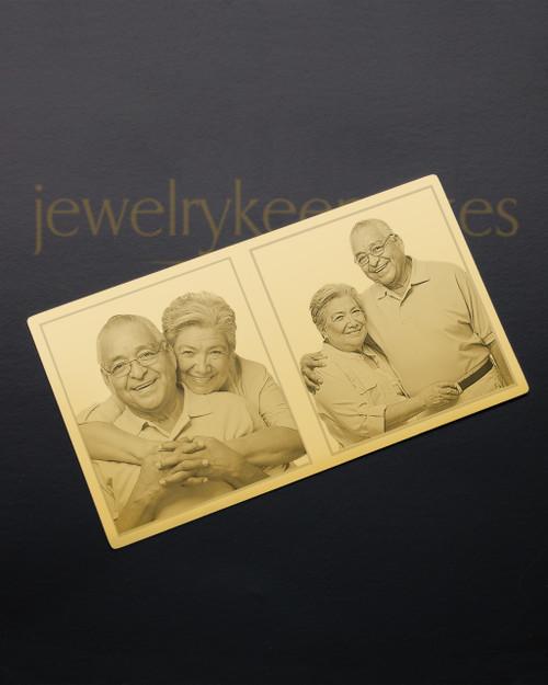 Gold Celebration Wallet Card