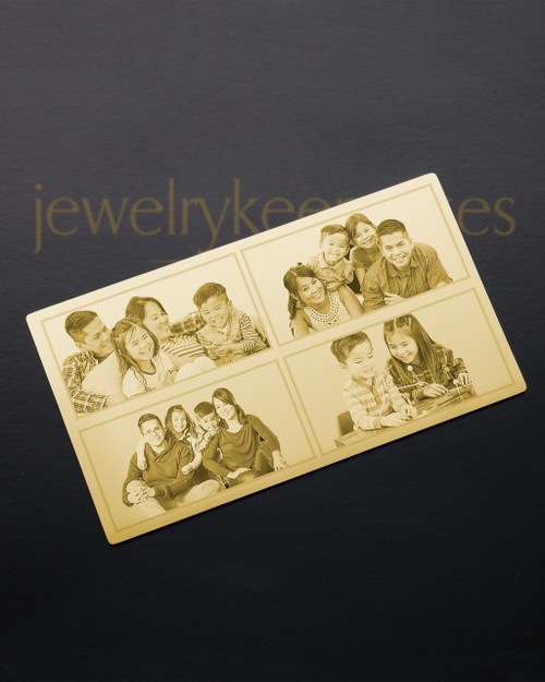 Gold Blessings Wallet Card