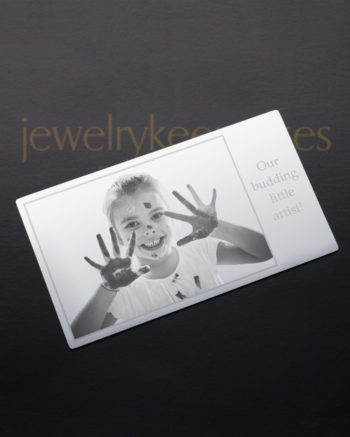 Silver Tenderness Wallet Card