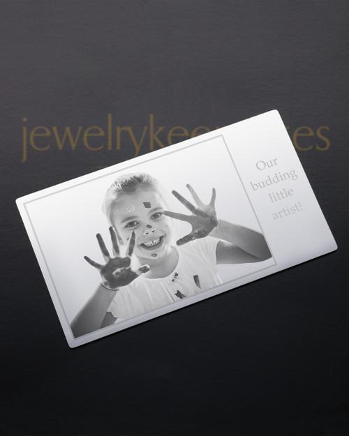 Silver Tenderness Wallet Card