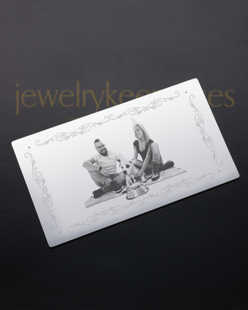 Silver Affection Wallet Card