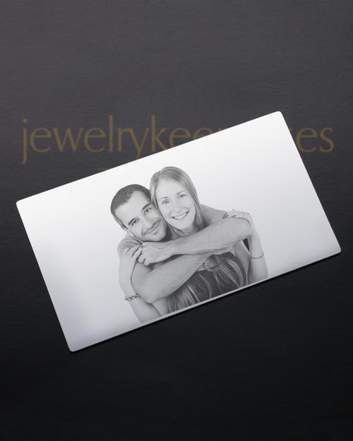 Silver Devotion Wallet Card