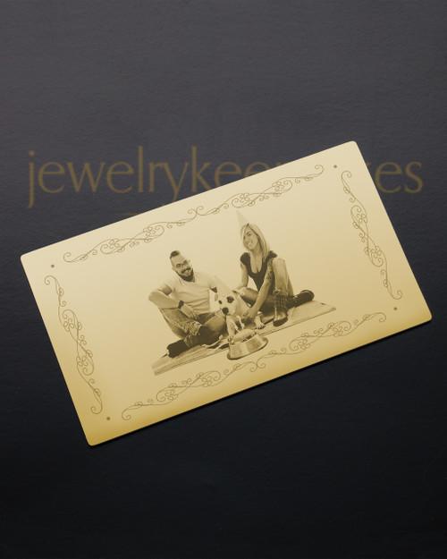 Gold Affection Wallet Card