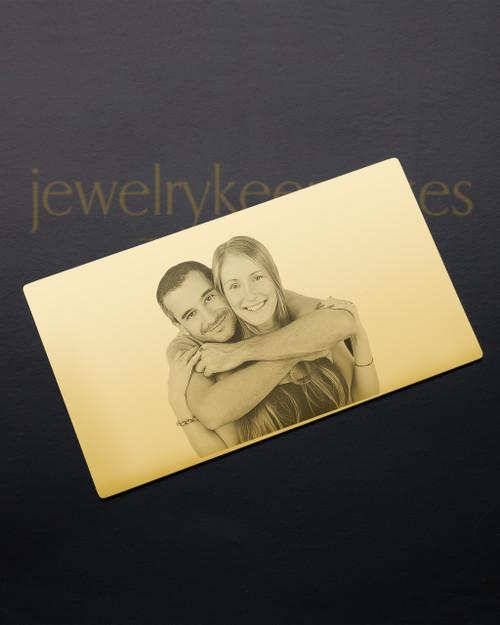 Gold Devotion Wallet Card