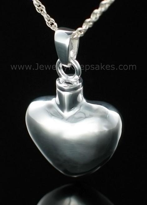 Locket Jewelry Sterling Silver Whole Heart
