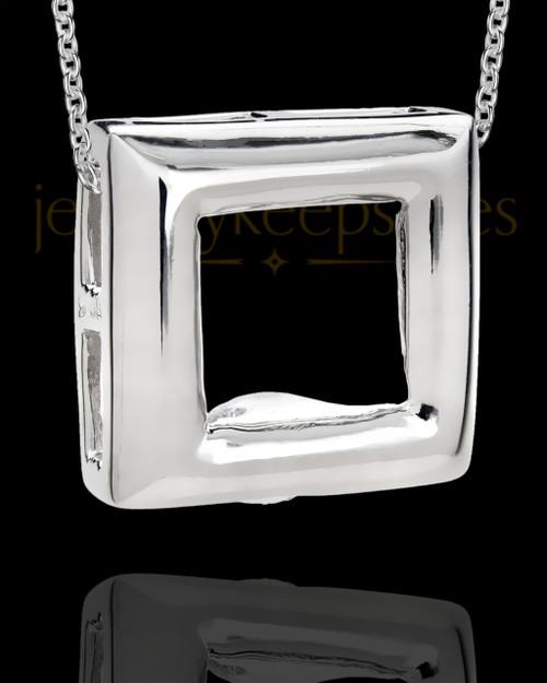 Men's Silver Bethany Cremation Jewelry