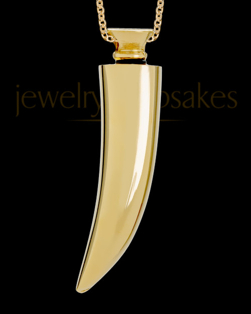 Men's Gold Plated Saber Tooth - Eternity Collection