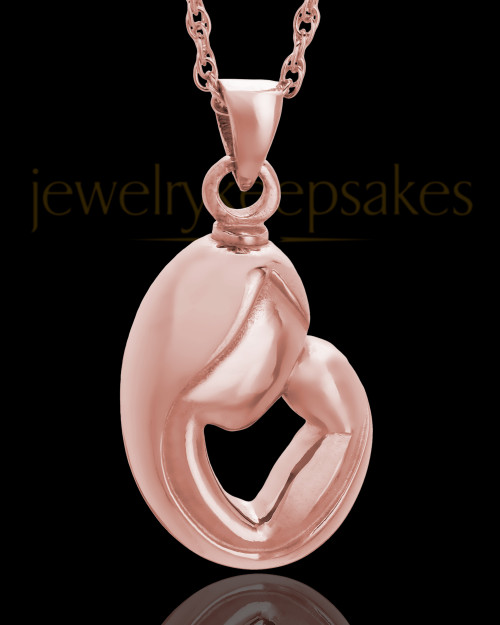 Urn Pendant 14K Rose Gold Caress Keepsake