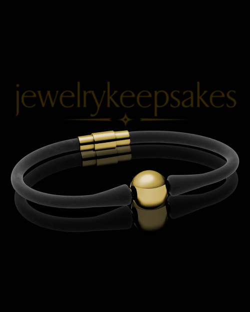 Gold Plated over Stainless Gentle Bracelet Keepsake Jewelry