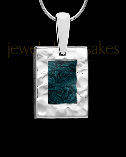 Solid 14K White Gold Moonlit Nights Ash Jewelry