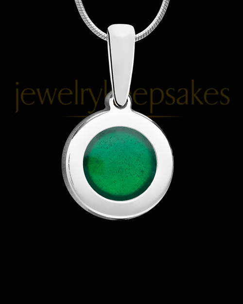 Solid 14K White Gold Rainforest Ash Jewelry