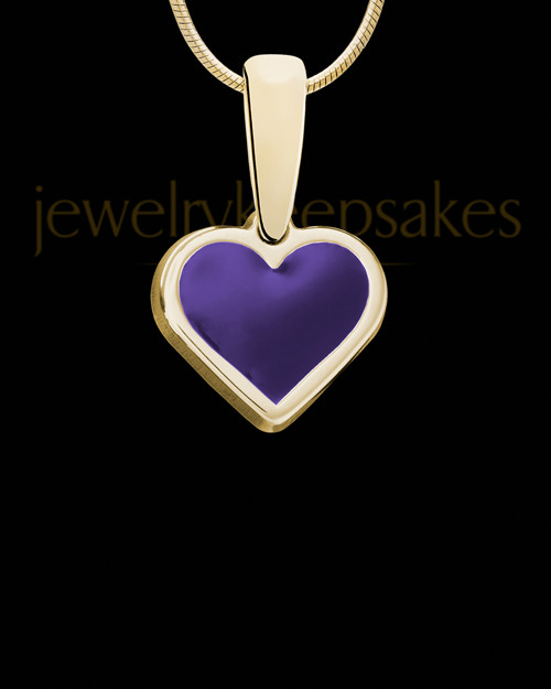 Solid 14K Gold Tender Love Ash Jewelry