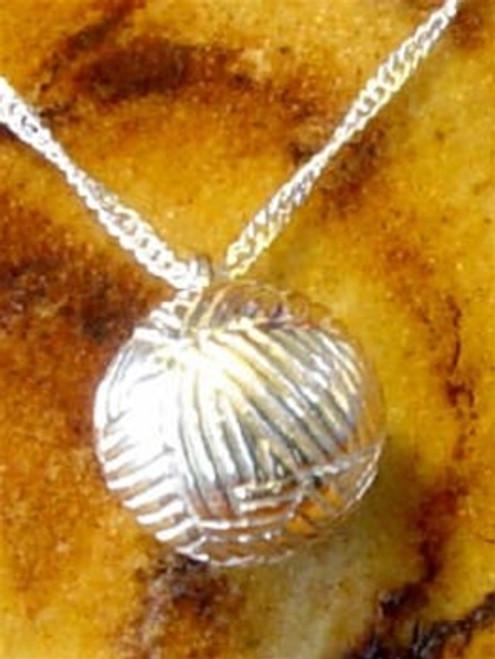 Pet Keepsake Jewelry Sterling Silver Ball of Yarn