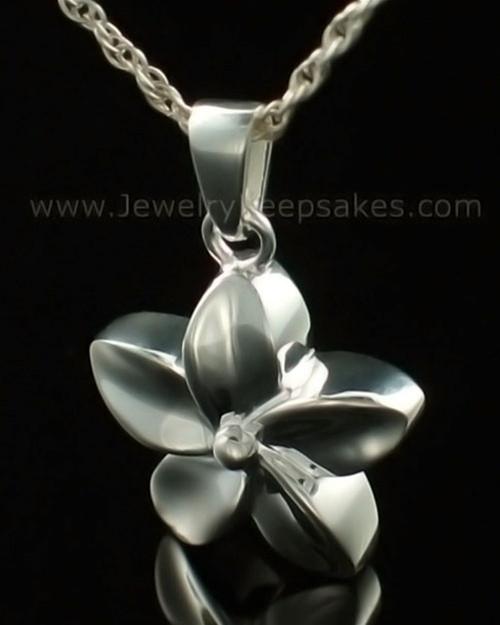 Keepsake Pendant 14K White Gold Flower
