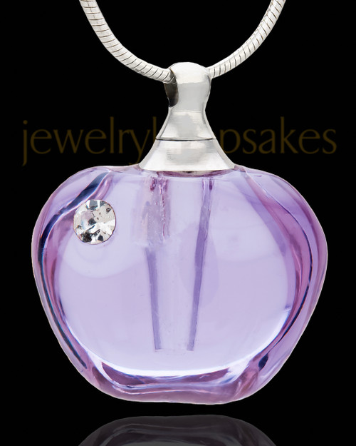 Funeral Jewelry Beguile Glass Locket