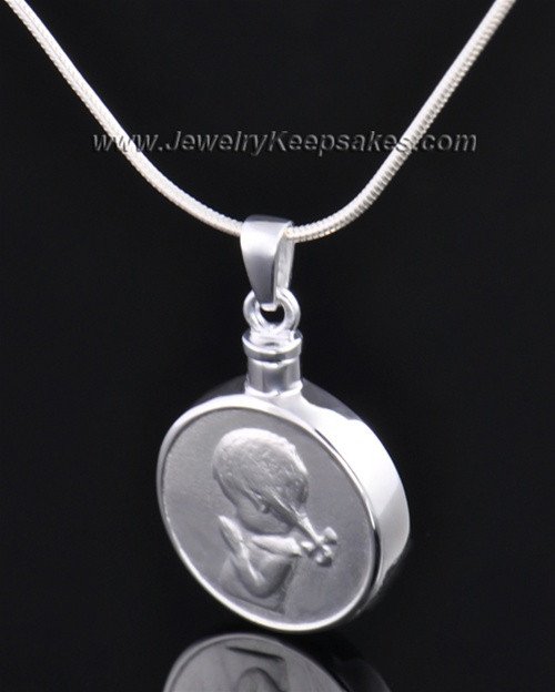 Necklace Urn Sterling Silver Girl