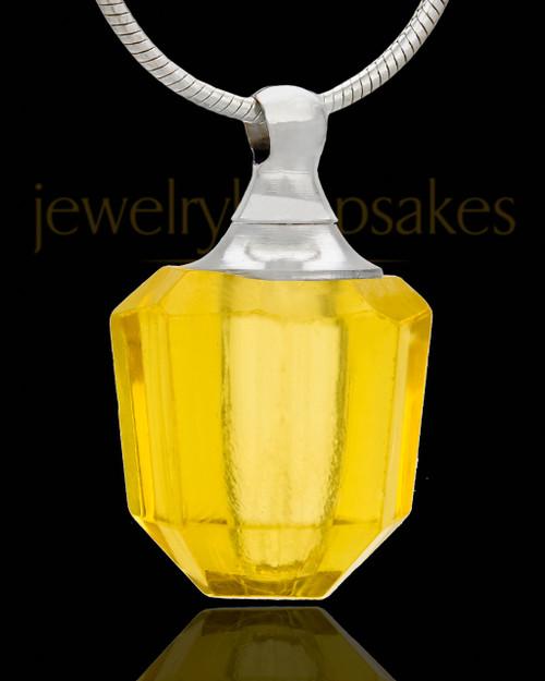 Necklace Urn Amulet Glass Locket