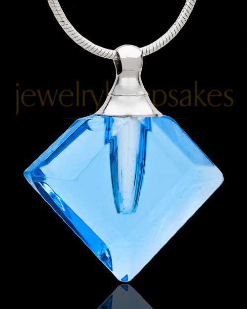 Cremains Pendant Fascination Glass Locket