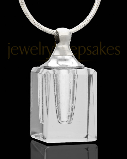 Cremation Charm Dearest Glass Locket