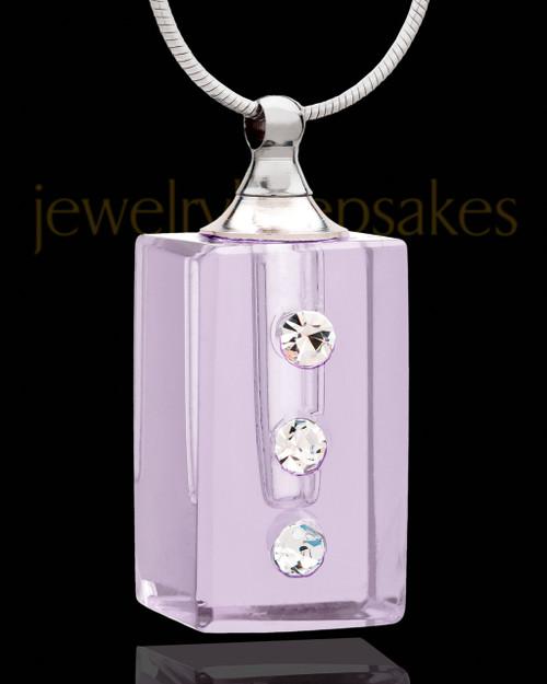 Locket Jewelry Lavender Dependable Glass Locket