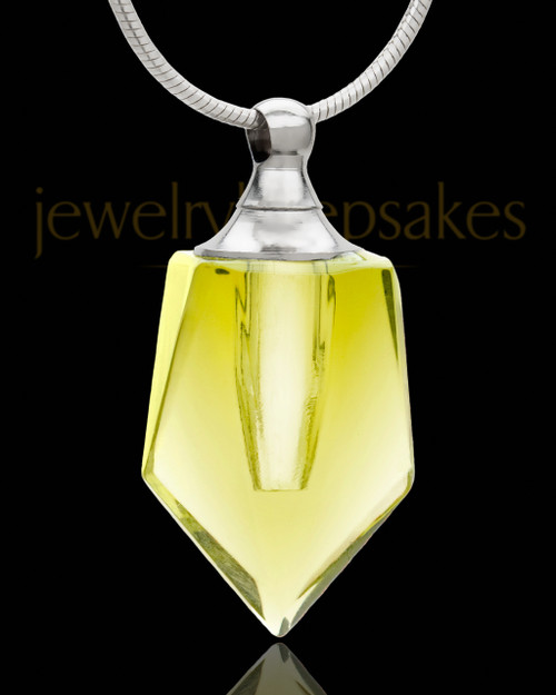Keepsake Jewelry Golden Devoted Glass Locket