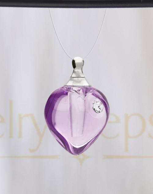 Magic Heart Glass Reflection Pendant