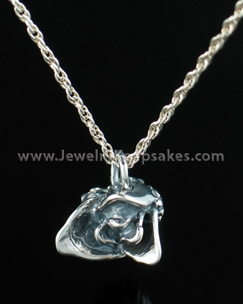 Remembrance Jewelry Sterling Silver Rose Bud