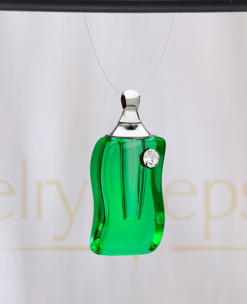 Verde Bliss Glass Reflection Pendant