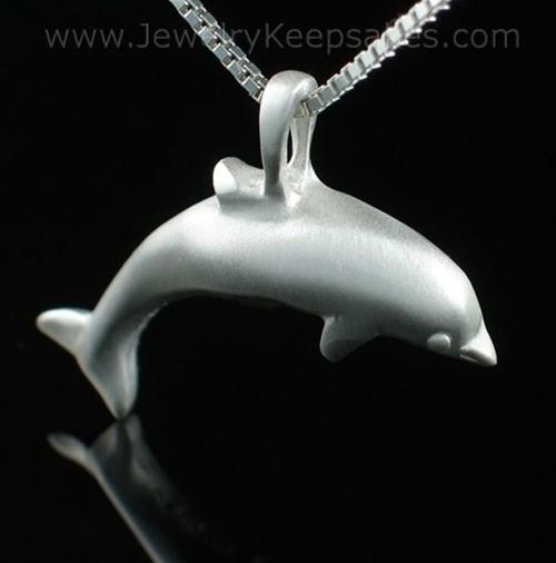 Keepsake Pendant Sterling Silver Dolphin
