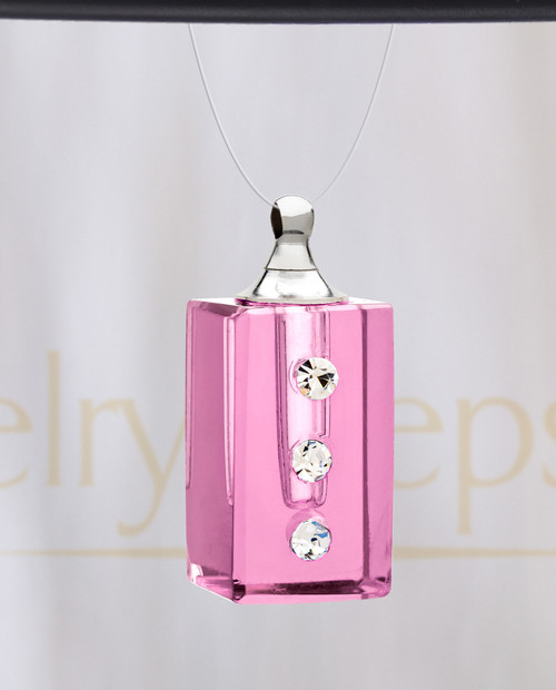 Rose Dependable Glass Reflection Pendant