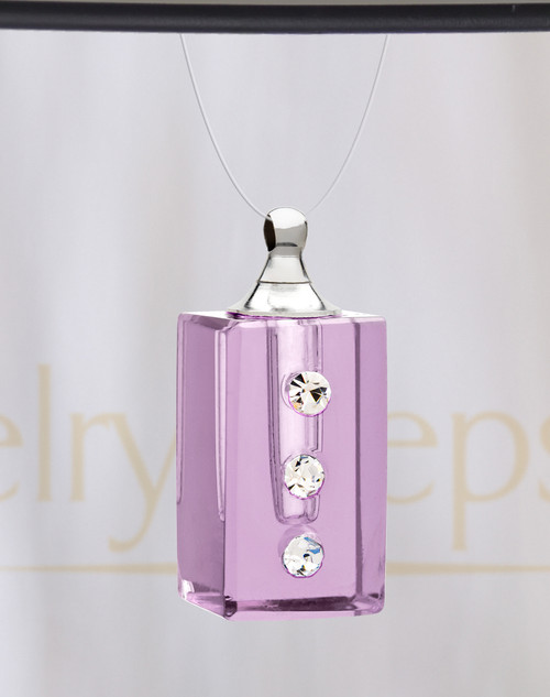 Violet Dependable Glass Reflection Pendant